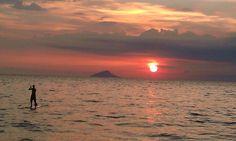 toque toque pequeno, litoral norte de são paulo. pôr do sol incrível.
