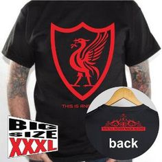 Kaos BIG SIZE XXXL Liverpool Fc This Is Anfield #1 Hitam #Metsustore