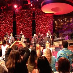 Performing #WalksLikeRihanna, @thewanted! Boom boom @thewantedlifetv
