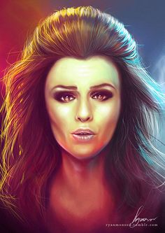Cher Lloyd Digital Drawing
