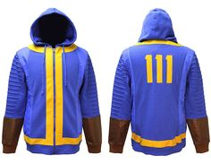 Fallout Hoodie - Fallout 111 Jacket - Fallout Cosplay - Fallout Costume Hoodie - Gamer Hoodie - geek hoodies nerdy geeky hoodies - nerdy hoodies - Costume Hoodie - nerd hoodies - cosplay hoodie - geek humor funny - geek chic fashion - geek chic outfit - geek sweater - geek gifts -geeky gifts - geeky gift ideas - nerdy gift ideas - nerd gifts - geeky fashion - geek fashion outfits - nerdy fashion - geeky hoodies hoods