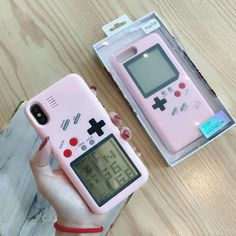 Nintendo game boy tetris shockproof case for iphone xs max xs xr x 8 7 Diy Iphone Case, Floral Iphone Case, Marble Iphone Case, Cool Phone Cases, Iphone Phone Cases, Iphone 7 Plus Cases, Phone Covers, Iphone 8, Samsung Cases