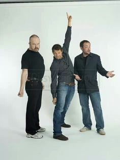 Jim, Misha,and Mark. Oh Misha
