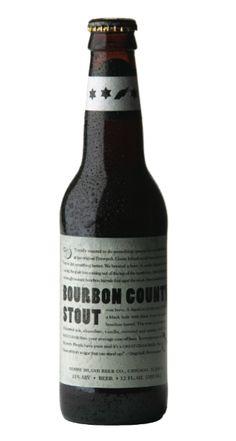 Goose Island (Chicago, Illinois) - Bourbon County Stout (Beer Advocate Score: 97)