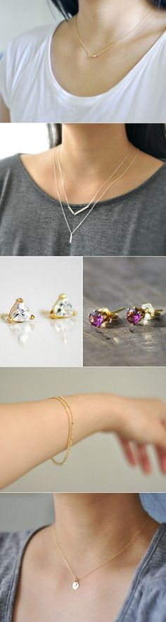 Wednesday Giveaway - A beautifully understated and minimalistic jewelry:)