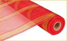 Red Gold Red Foil Poly Mesh Poly Mesh Supplies  by wreathsbyrobin See more at: https://www.etsy.com/shop/wreathsbyrobin