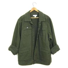 Vintage Army Green Jean Jacket 90s Dark Green Denim Grunge Jacket Over ❤ liked on Polyvore featuring outerwear, jackets, vintage jean jacket, olive denim jacket, green jean jacket, oversized jean jackets and green camo jacket