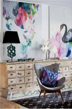 Inspired Design: Creating A Gallery Wall by Jeanine Hays on @HGTV.