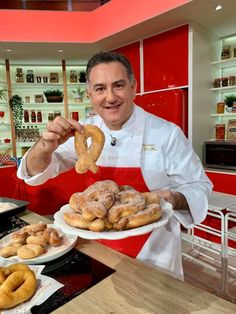 Italian Cookies, Italian Desserts, Mini Desserts, Italian Recipes, Croissant Recipe, Biscuits, Chiffon Cake, Bread And Pastries, Nutella