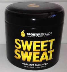 Sweet Sweat Skin Cream, 13.5 Ounce Jar $29.30