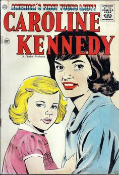1961 Caroline Kennedy comic book