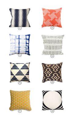 throw pillows | emma dime