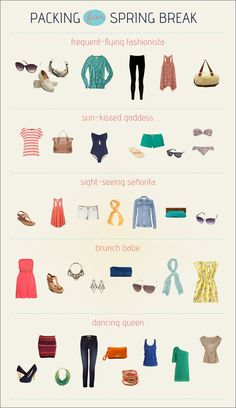 spring break style guide - i can't wait for warm weather!