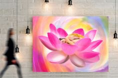 Lotus Blossom - Canvas