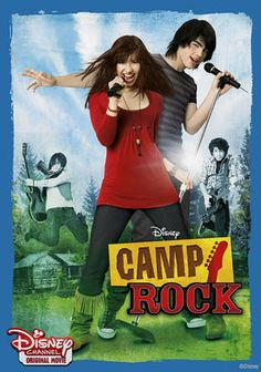Camp Rock (2008) Despite Mitchie's (Demi Lovato) beautiful voice and musical aspirations, the only way she can attend the pricey rock camp she wants to go to is to help in the kitchen -- a fact she goes to great lengths to hide. But when celebrity camp counselor Shane Gray (Joe Jonas of the teen pop band the Jonas Brothers) overhears her singing without ever seeing her face, he makes it his mission to find the girl whose voice has captured his heart.