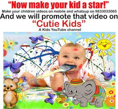 Smart Bollywood: Cutie Kids - Now make your kid a star!
