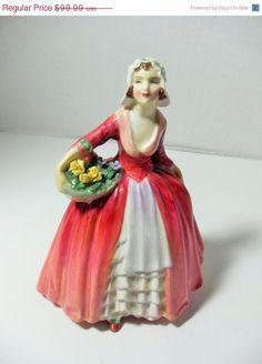 SALE Royal Doulton figurine Janet HN1537 near by GingersLittleGems