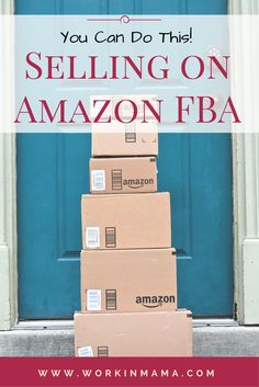 Did you know you can sell products on Amazon... and have those products fulfilled by them, too? It's a great work from home options for moms (or dads). Make Money On Amazon, Sell On Amazon, Make Money From Home, Make Money Online, How To Make Money, Work From Home Options, Work From Home Opportunities, Work From Home Moms, Amazon Fba Business