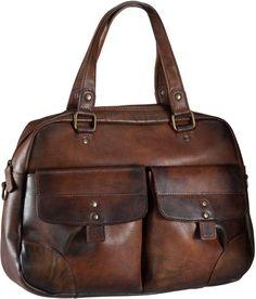 Jost Ranger 2449 Handtasche Cognac - Handtasche