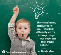 Troublemakers! #Leadership #Innovation