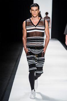 R.Groove Spring/Summer 2015... Striped sportswear