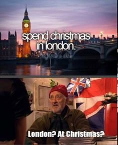 Things I learned from Doctor Who: Spending Christmas in London is a REALLY REALLY BAD IDEA.