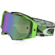 Oakley Airbrake Eli Tomac Neon Green Prizm Goggles