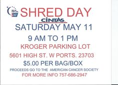 2013-5-11 Shred Day