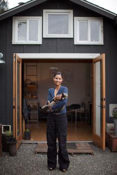 Mini House, da garage a miniloft by Michelle de la Vega