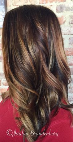 Fall hair! Caramel and copperbrown