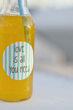 customize label drink bottle