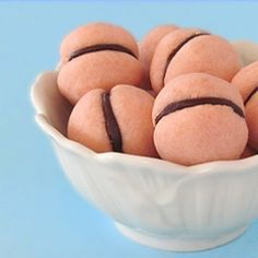 Pink Chocolate Filled Kiss Cookies