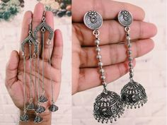 Jewelryclub - Shop from the latest collection of Earrings for women & girls online. Buy studs, ear cuff, drop & more Earrings at best price, COD. Metal Jewelry, Silver Jewelry, Buy Jewellery Online, Buy 1 Get 1, Wife And Girlfriend, Girl Online, Women's Earrings, Engagement, Chain