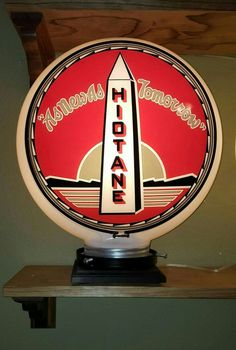 Rare Hiotane Gas Globe