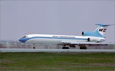 Malev Hungarian Airlines Tupolev Tu-154B-2
