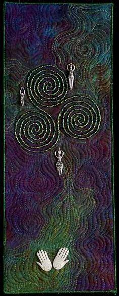 Celtic Spiral I by Larkin Jean Van Horn