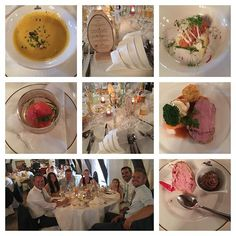 Lovely wedding dinner 🍴🍰🍾 #wedding #colinveronique #dinner #summer #luxembourg #cornsoup #salmon #spoom #veal #veggies #cake #chocolatmousse #family #love