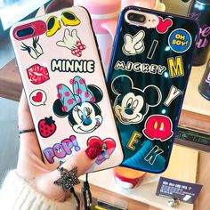 Disney Phone Cases, Iphone Phone Cases, Moschino Phone Case, Mikey Mouse, Free Phones, Mickey Minnie Mouse, Iphone 7 Plus, Phone Accessories, Smartphone
