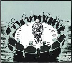 Nuevo post para www.unadocenade.com:    La #crisis que han provocado algunos y que estamos pagando entre todos, retratada en las magníficas #viñetas de El Roto
