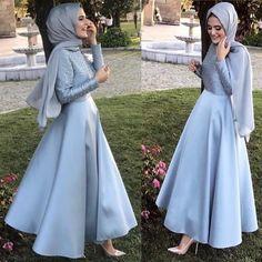 630 Likes, 11 Kommentare . Hijab Gown, Hijab Evening Dress, Hijab Dress Party, Hijab Wedding Dresses, Evening Dresses, Prom Dresses, Bridesmaid Dress, Muslim Fashion, Modest Fashion