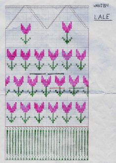 Vanten Lale – Dela dina vantar! Mittens Pattern, Knit Mittens, Mitten Gloves, Knitting Patterns Free, Free Knitting, Baby Knitting, Fair Isle Chart, Knit Crochet, Crochet Hats