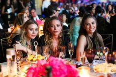 Pin for Later: 28 Fashion Moments From the CFDA Awards You Just Can't Miss The Olsen Sisters' Matching Black
