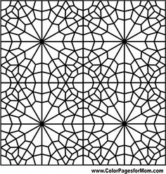 geometric shapes coloring page 83 - Geometric Coloring Pages