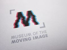 Museum of the Moving Image (Student Branding Project) by Tien-Min Liao, via Behance