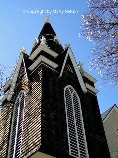 Gothic style architecture is displayed on Augusta Chapel, constructed in 1915 as a Swedish Lutheran church in Boise, Idaho. ©Copyright by Marty Nelson. Photo available to purchase on line: http://www.dreamstime.com/royalty-free-stock-images-augustana-swedish-lutheran-chapel-was-constructed-boise-idaho-was-originally-church-image39017749