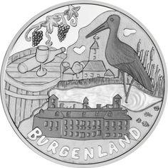 10 Euro Silber Burgenland PP