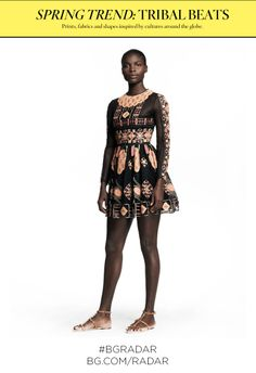 TRIBAL BEATS - click to see looks from Valentino & more.