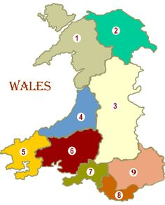 Wales travel guide | Historic attractions, Heritage and History - Welsh Regions