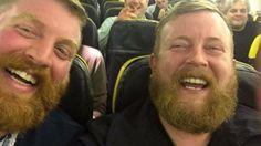 Man Meets Doppelganger on Flight to Ireland lol ... Douglas of Ireland, and Robert of London. Oct 29, 2015