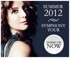Sarah McLachlan - Symphony Tour. Best concert ever ... I have come a long way since my Depeche Mode concert days.